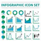 Infographic icon set Royalty Free Stock Image
