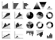 Infographic icons Stock Image