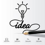 Infographic ideeconcept Royalty-vrije Stock Foto