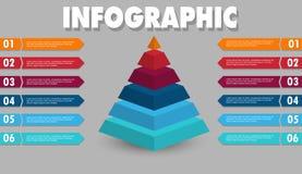 Infographic2 illustrazione di stock