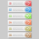 Infographic  illustration. can be used for workflow layout, diagram, number optionsinfographic  illustration. Modern Design template / can be used for info Royalty Free Stock Image