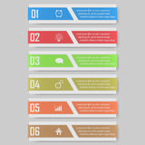 Infographic  illustration. can be used for workflow layout, diagram, number optionsinfographic  illustration. Modern Design template / can be used for info Royalty Free Stock Images