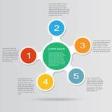 Infographic Illustration Royalty Free Stock Image