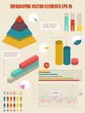 Infographic Illustration des Details. Lizenzfreies Stockbild
