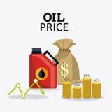 Infographic industric del petróleo y del aceite Fotos de archivo libres de regalías