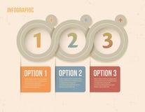 Infographic interfejs Zdjęcia Stock