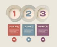 Infographic interfejs Obrazy Royalty Free