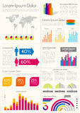 Infographic Layout Royalty Free Stock Photos