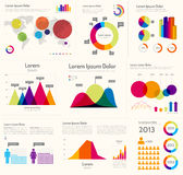 Infographic Layout Stock Photo
