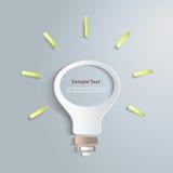 Infographic light1 bianco Royalty Illustrazione gratis