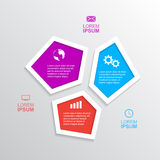 Infographic mall royaltyfri illustrationer