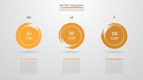 Infographic mall för vektor Royaltyfria Foton