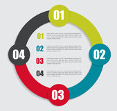 Infographic mallar för affärsvektor Arkivfoton