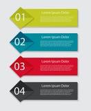 Infographic mallar för affärsvektor Fotografering för Bildbyråer