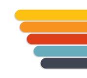 Infographic mallar för affärsvektor Arkivbild