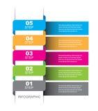 Infographic malldesign Royaltyfri Fotografi