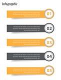 Infographic malldesign Royaltyfria Bilder