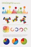 Infographic met elementen vector illustratie