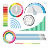 Infographic Modern Digital Display Royalty Free Stock Photos