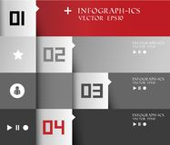 Infographic moderne Photo stock
