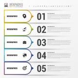 Infographic Moderne vektorauslegungschablone Vektor Stockbilder