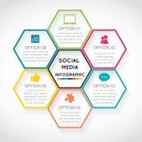 Infographic moderno illustrazione di stock