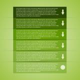 Infographic moderno. Elementi di progettazione Fotografia Stock