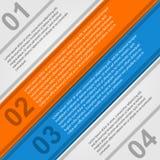 Infographic moderno. Elementi di progettazione Fotografie Stock Libere da Diritti