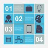 Infographic moderno. Elementi di progettazione Immagine Stock Libera da Diritti