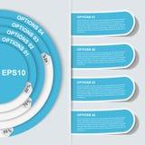 Infographic moderno. Elementi di progettazione Fotografia Stock Libera da Diritti