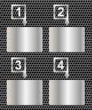 Infographic moderno realistico. Elementi di progettazione Immagini Stock