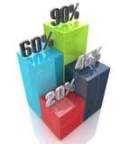 Infographic o modello di web design Fotografia Stock