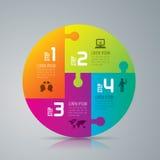 Infographic ontwerp en marketing pictogrammen Royalty-vrije Stock Afbeeldingen