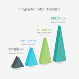 Infographic option template Royalty Free Stock Image