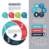 Infographic organizacja i style royalty ilustracja