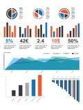 infographic packe v för 01 element vektor illustrationer