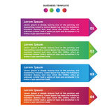 Infographic pencil options template. For any business use Stock Photography