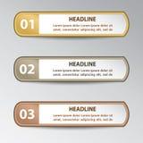 infographic projektów elementy Zdjęcie Royalty Free