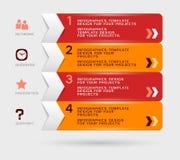 Infographic projekt Obrazy Royalty Free