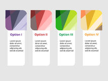 Infographic projekt Obraz Stock