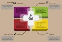 Infographic projekt Obraz Royalty Free