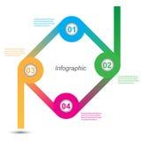 Infographic projekt dla produktu rankingu Zdjęcia Royalty Free