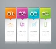 Infographic projekt i marketingowe ikony Obrazy Royalty Free