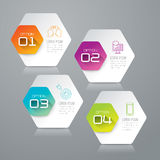 Infographic projekt i marketingowe ikony Fotografia Royalty Free