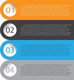 Infographic projekt na popielatym tle WEKTOROWA EPS kartoteka 10 Zdjęcie Royalty Free