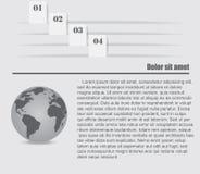 Infographic projekta elementy Obrazy Royalty Free