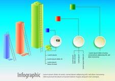 Infographic projekta ilustracja Obrazy Royalty Free