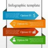 Infographic projekta szablon Obraz Royalty Free