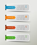 Infographic projekta szablon Fotografia Stock
