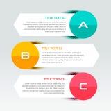 Infographic projekta szablon może używać dla obieg układu, diagram, numerowe opcje, sieć projekt Infographic pojęcia biznesowy do Obrazy Royalty Free
